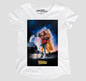 BACK TO THE FUTURE PÓSTER MUJER