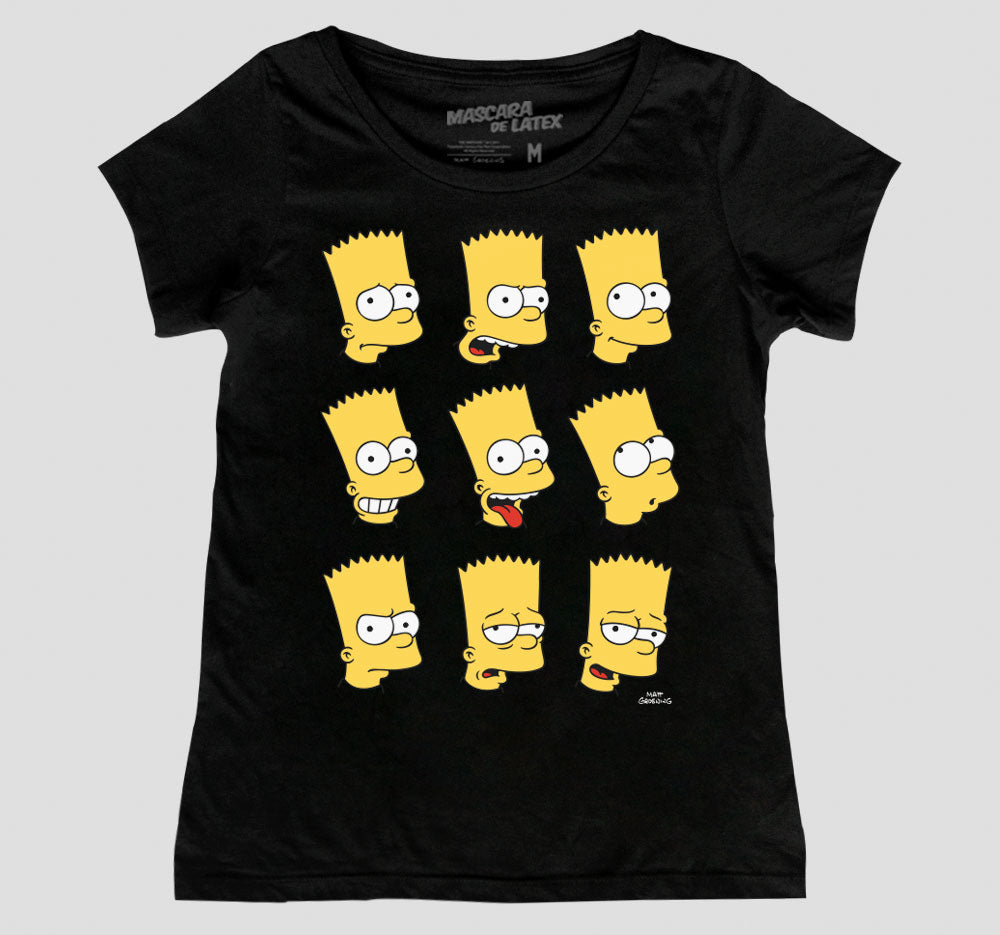 BART FACES MUJER