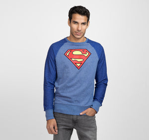 SUPERMAN RAGLAN PULLOVER