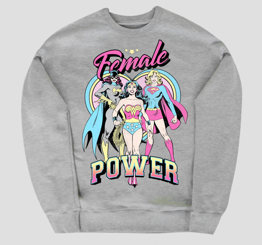FEMALE POWER PULLOVER