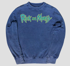 RICK & MORTY LOGO PULLOVER