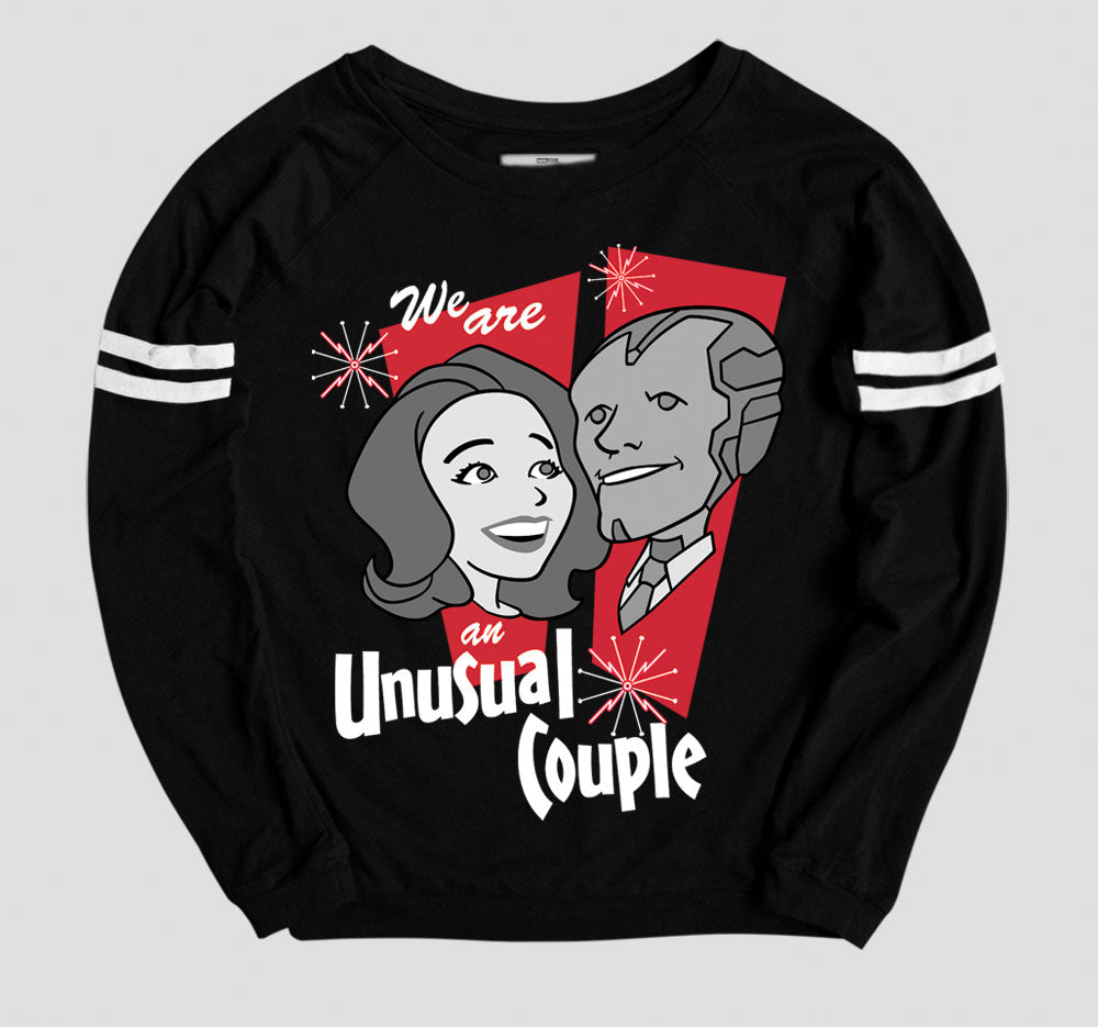 AN UNUSUAL COUPLE PULLOVER
