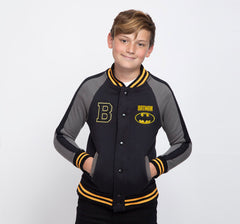 BATMAN VARSITY JACKET NIÑO