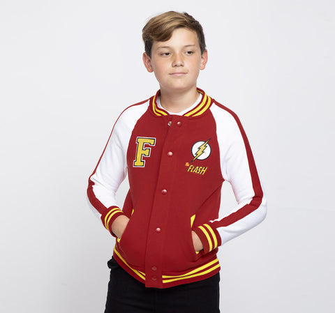 FLASH VARSITY JACKET NIÑO