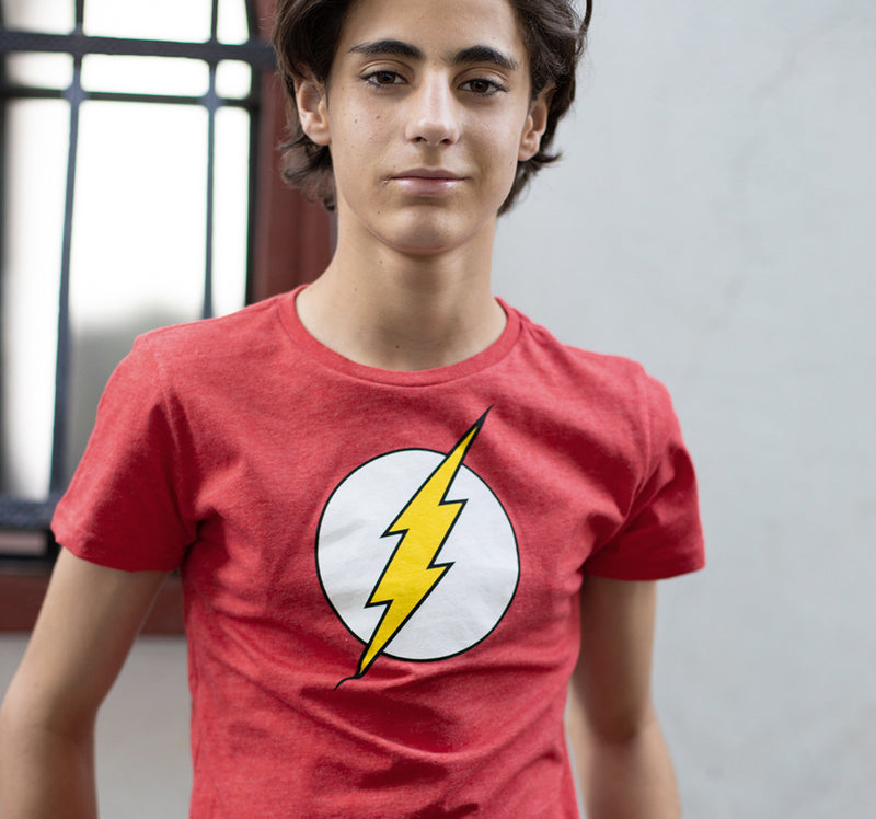 THE FLASH LOGO NIÑO