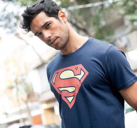 SUPERMAN VINTAGE LOGO