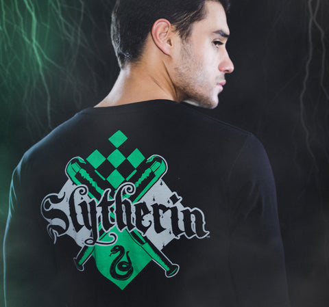 SLYTHERIN MANGA LARGA