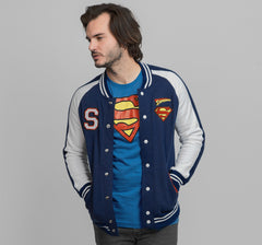 SUPERMAN VARSITY JACKET