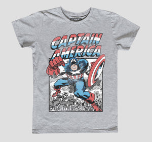 CAPTAIN AMERICA RETRO NIÑO
