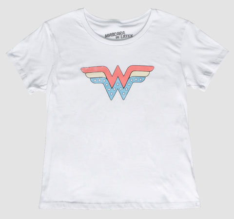 WONDER WOMAN OLD SCHOOL LOGO