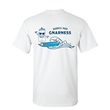 Harness Your Gnarness- White Tee