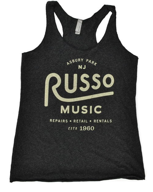 Russo Music 'Asbury Park' Racer Back Tank Top - Heather Graphite