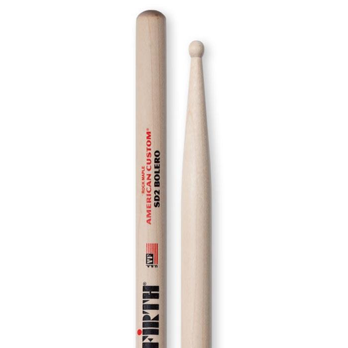 Vic Firth SD2 Bolero Wood Tip Drumsticks