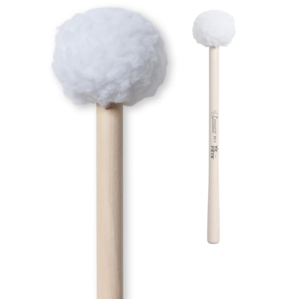 Vic Firth Medium Soft Fuzzy Head Bass Mallet