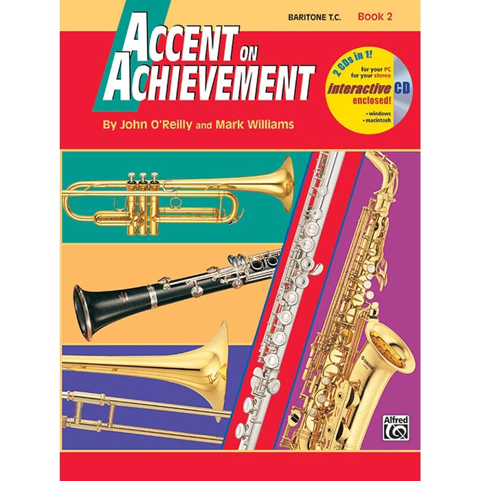 Accent On Achievement - Baritone T.C. Book 2