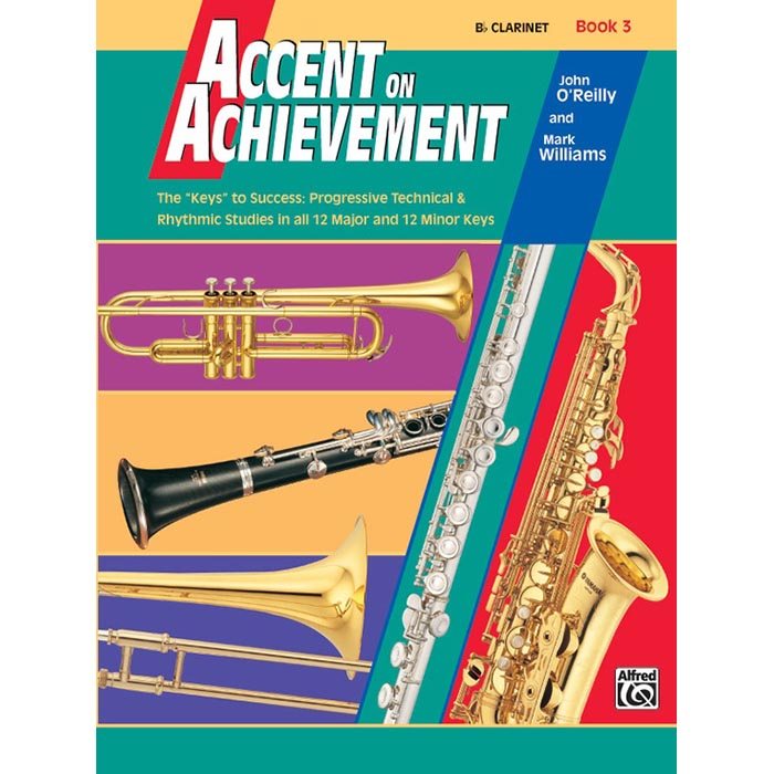 Accent On Achievement - BB Clarinet Book 3