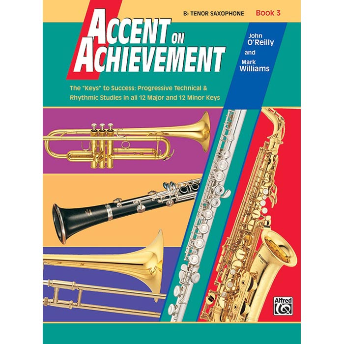 Accent On Achievement - BB Tenor Saxophone Book 3
