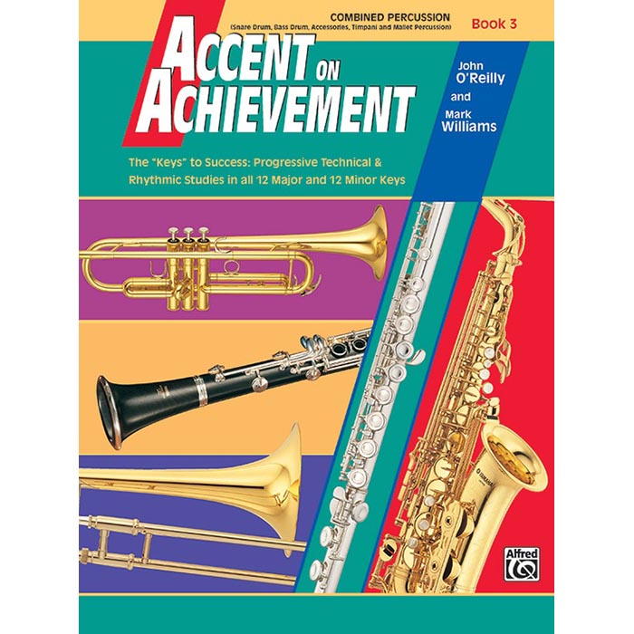 Accent On Achievement - Percussion Combined Book 3