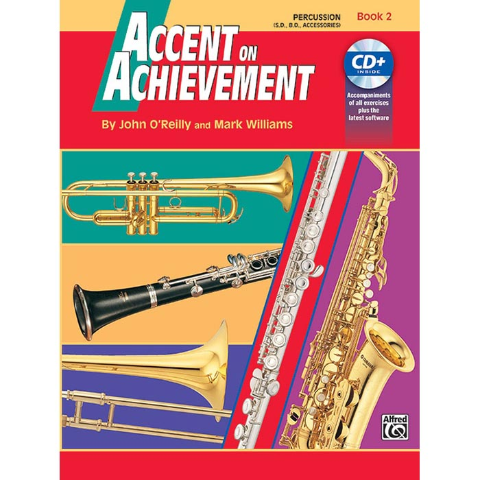 Accent On Achievement - Percussion Snare Book 2