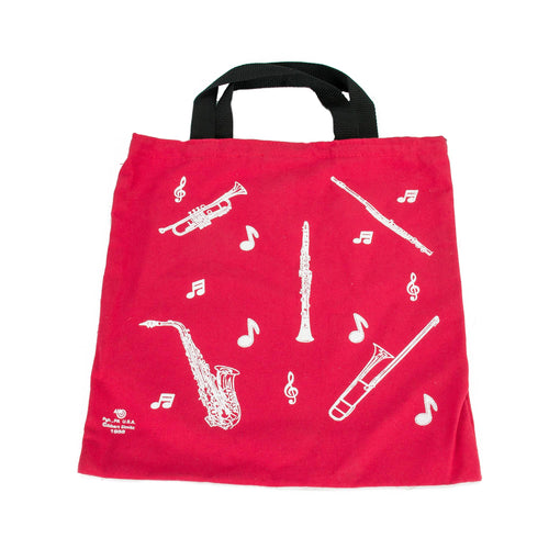 Red Band Totebag