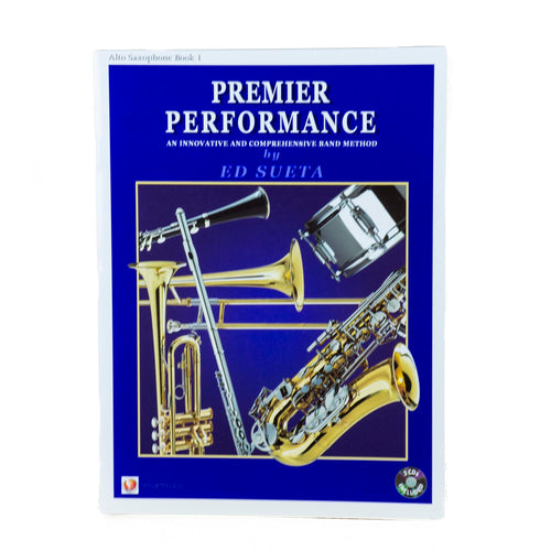 Premier Performance Alto Sax Book 1 With CD