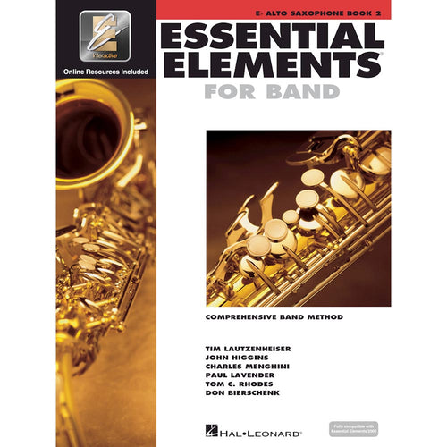 Essential Elements - Alto Sax Book 2