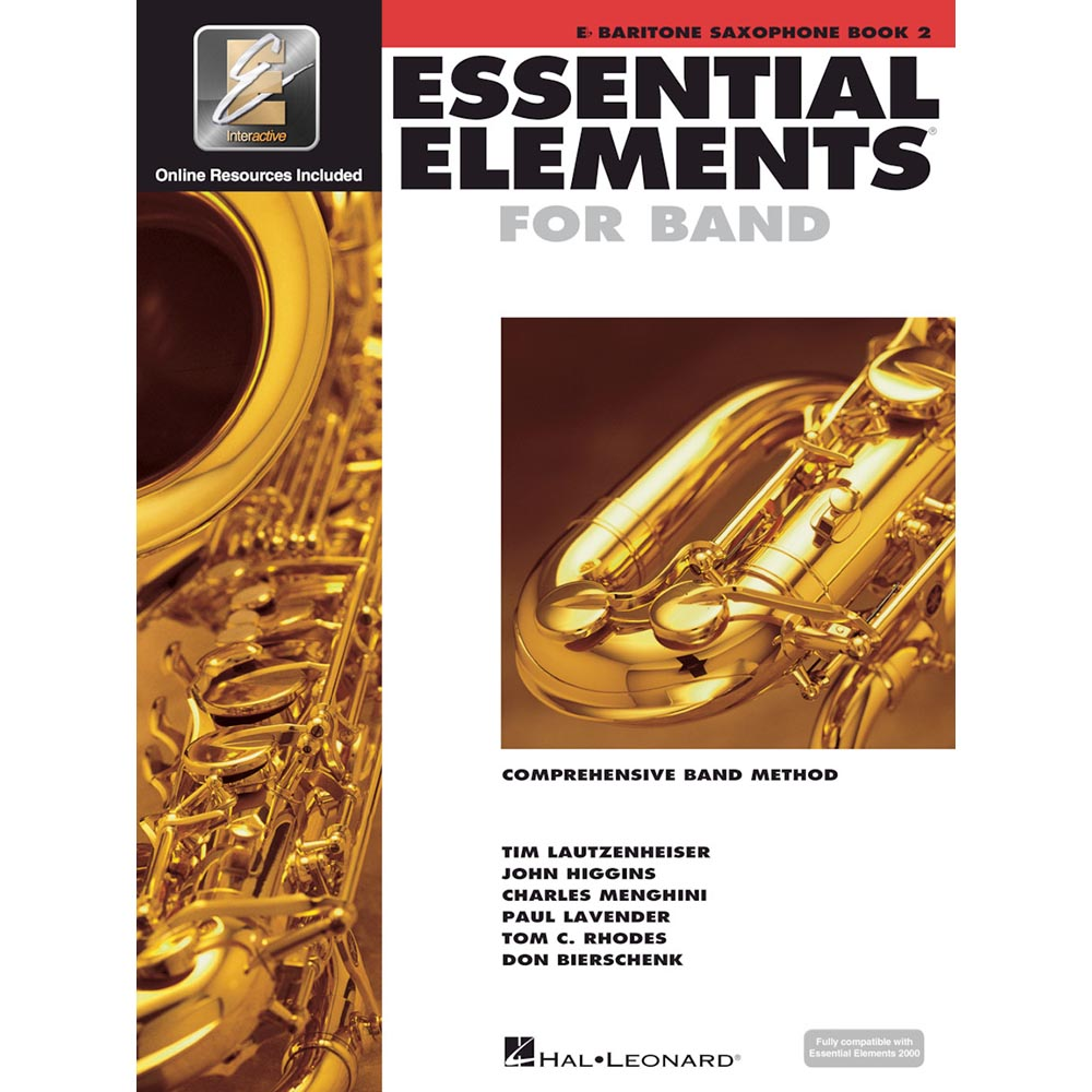 Essential Elements - Bari Sax Book 2
