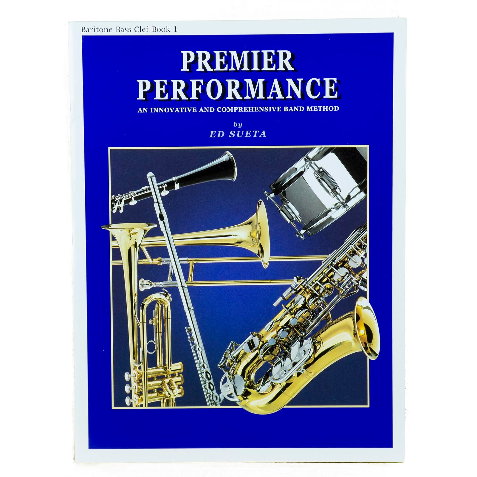 Premier Performance Baritone B.C. Book 1 With CD