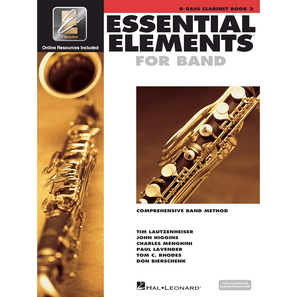 Essential Elements - Bass Clarinet Book 2
