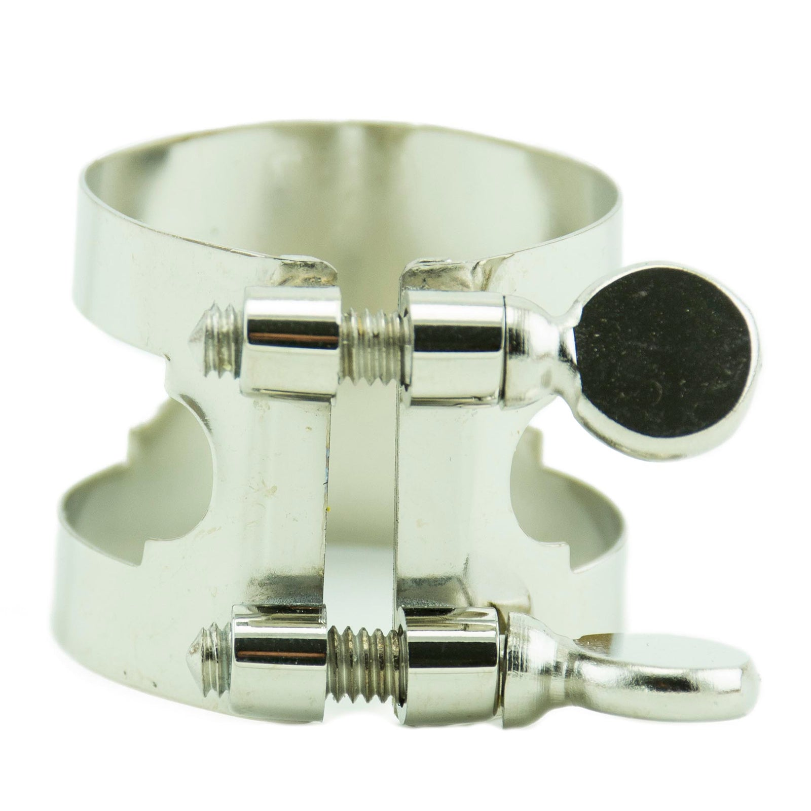 Bonade Nickel Ligature - Alto Sax