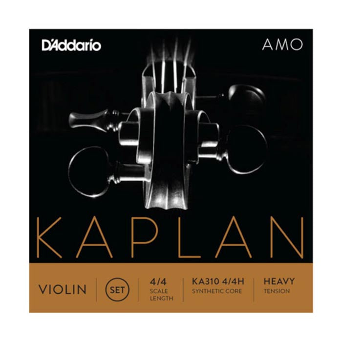 Daddario Kaplan Amo Violin Set 4/4 Heavy Tension