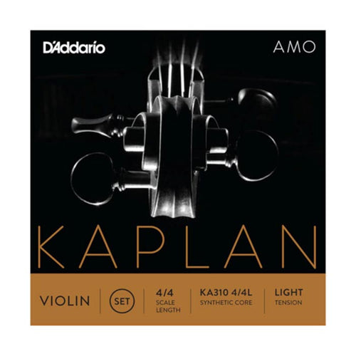 Daddario Kaplan Amo Violin Set 4/4 Light Tension