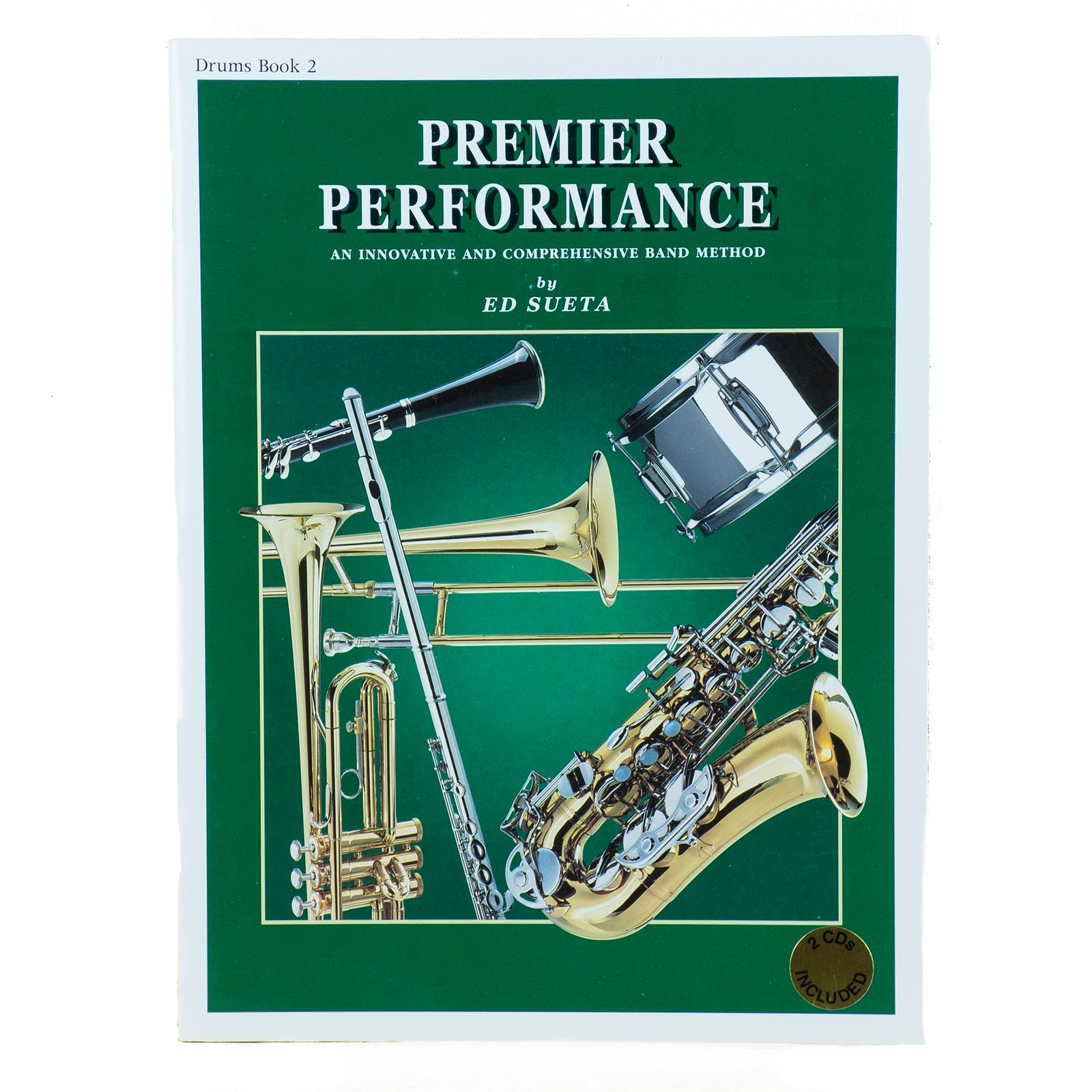 Premier Performance Drums Book 2 With CD