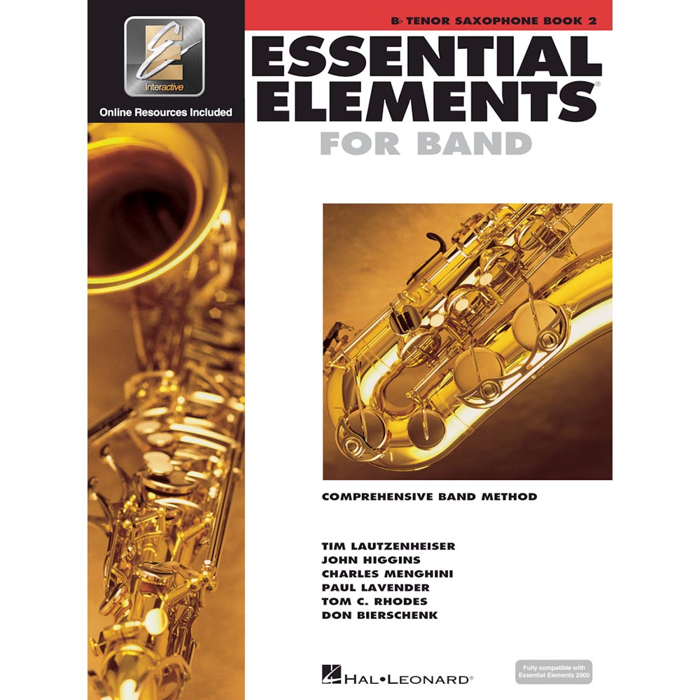 Essential Elements - Tenor Sax Book 2