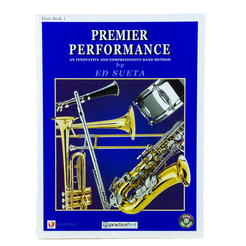 Premier Performance Flute Book 1 With CD