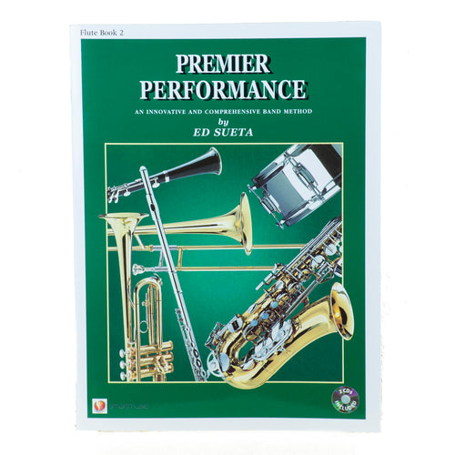 Premier Performance Flute Book 2 With CD