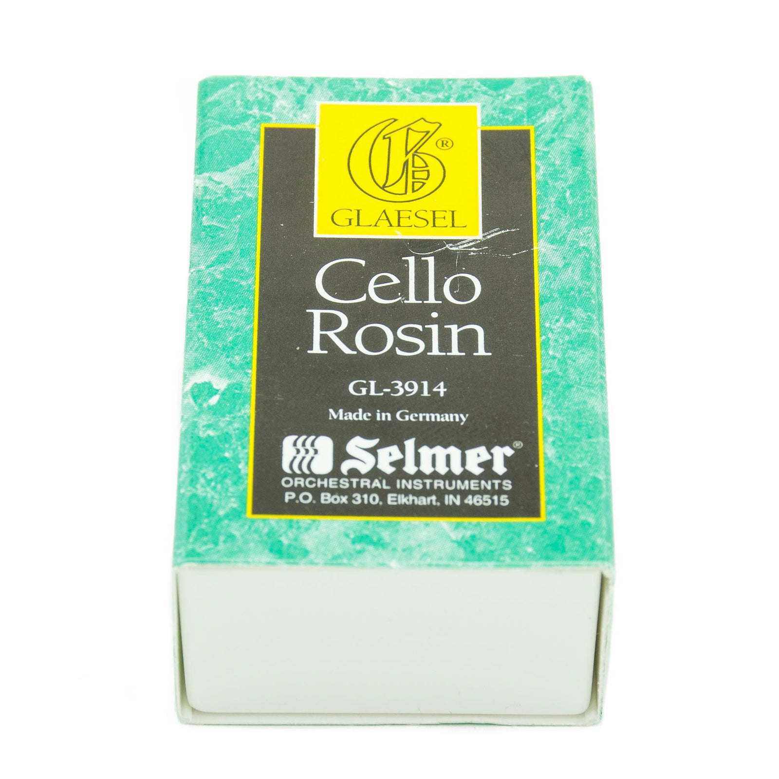 Glaesel Light Amber Cello Rosin