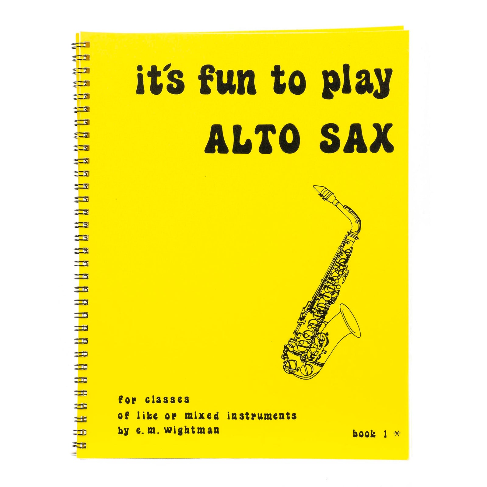 It's Fun To Play The Alto Sax
