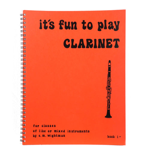 It's Fun To Play The Clarinet
