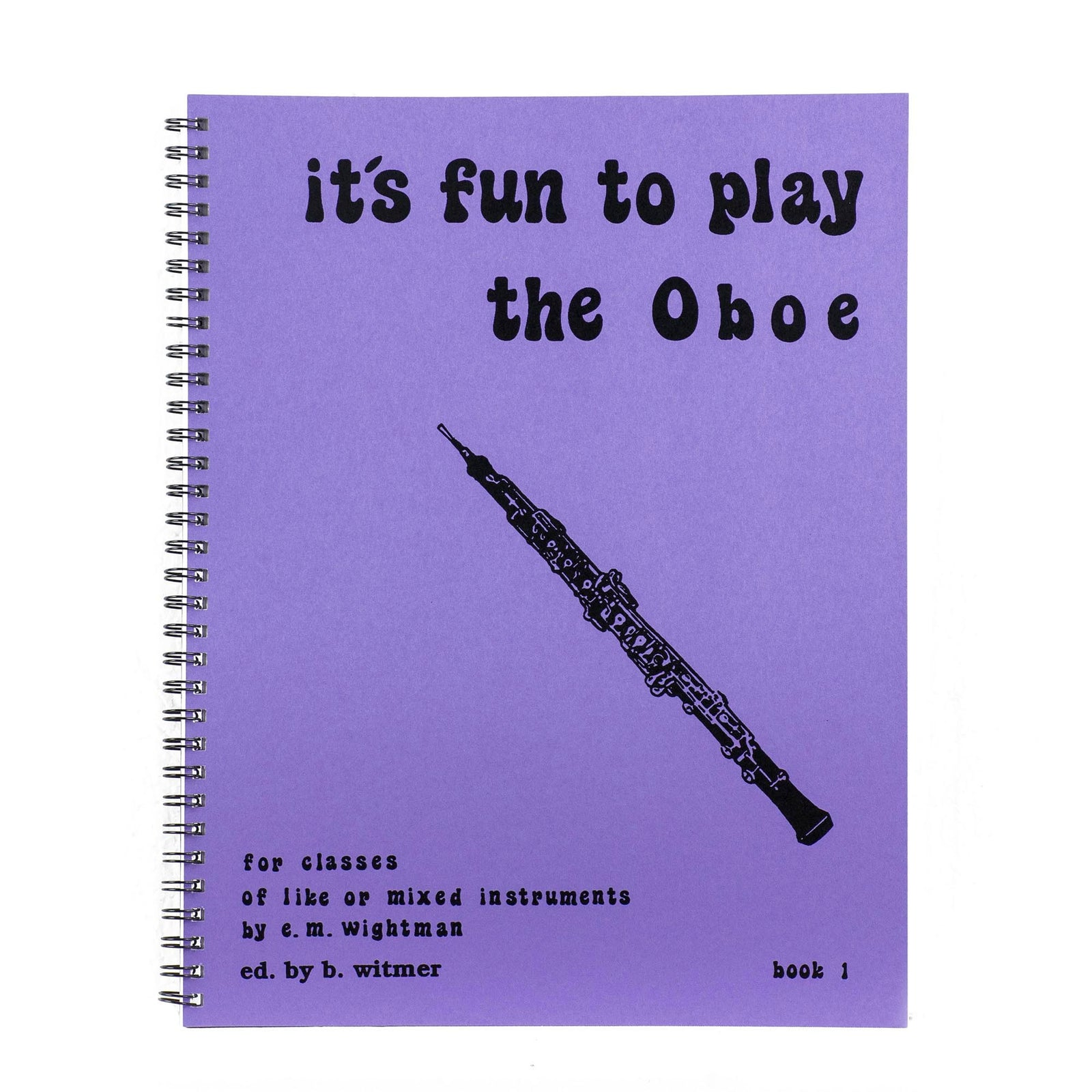 It's Fun To Play The Oboe