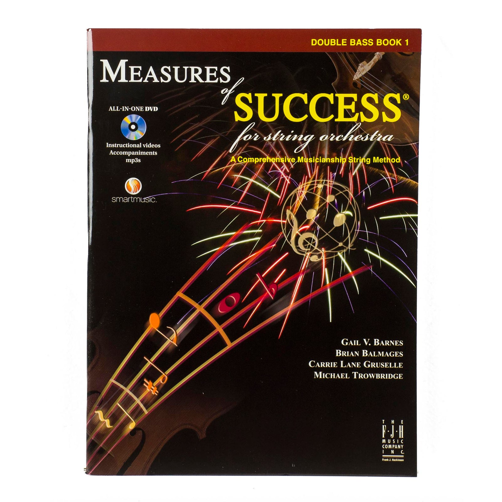 Measures Of Success For String Orchestra - String Bass Book 1