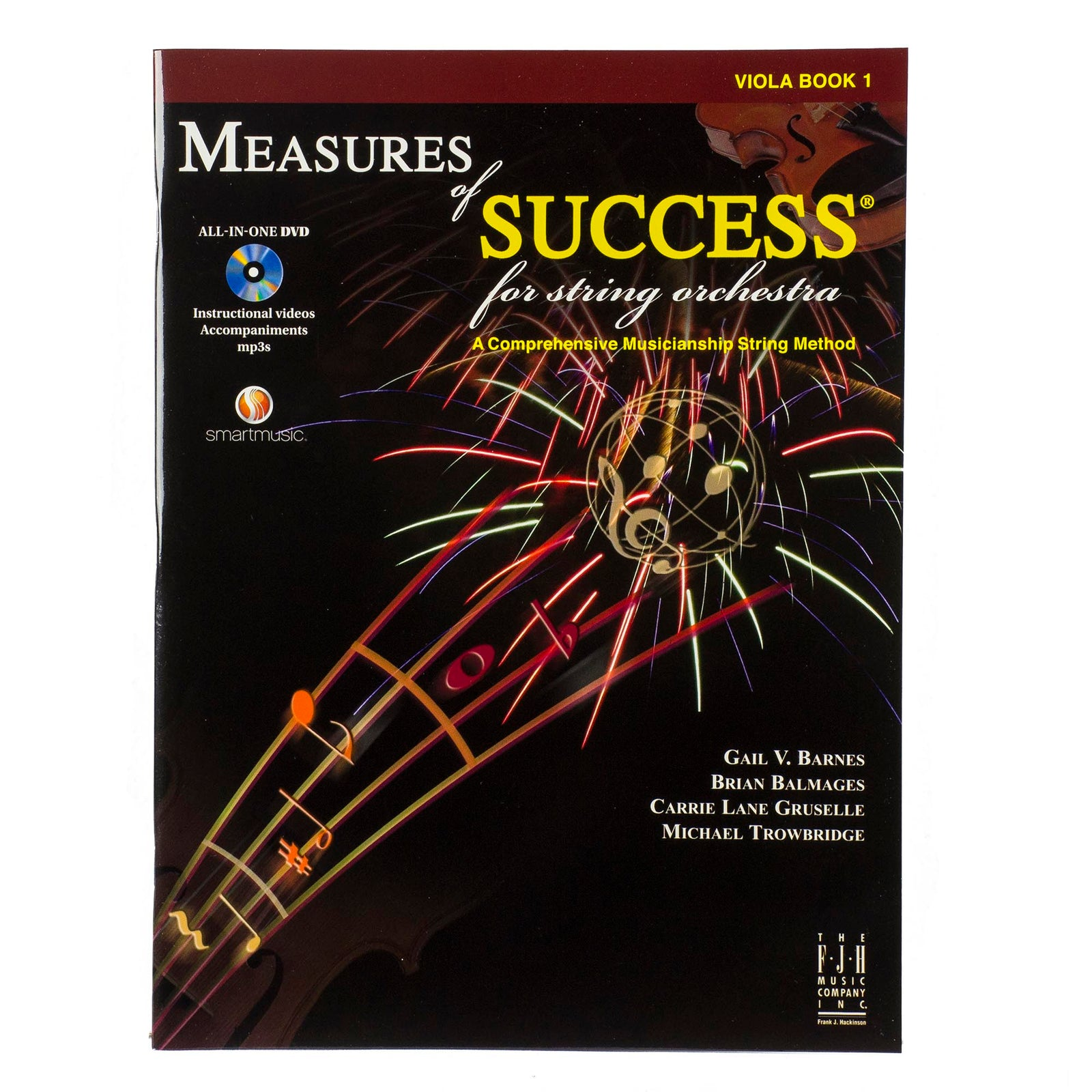 Measures Of Success For String Orchestra - Viola Book 1