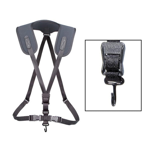 Neotech Bari Sax Regular Black Harness/Strap