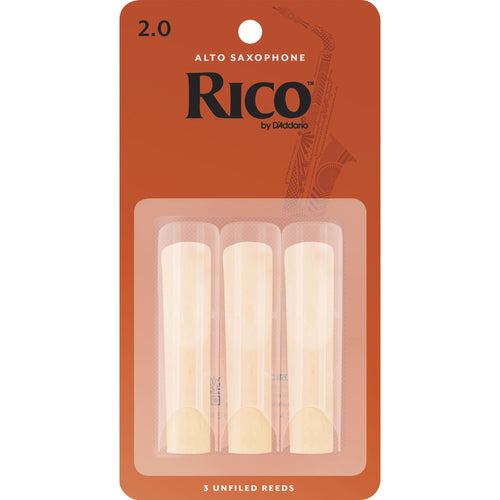 Rico by D'addario Alto Saxophone Reeds (3 Pack)