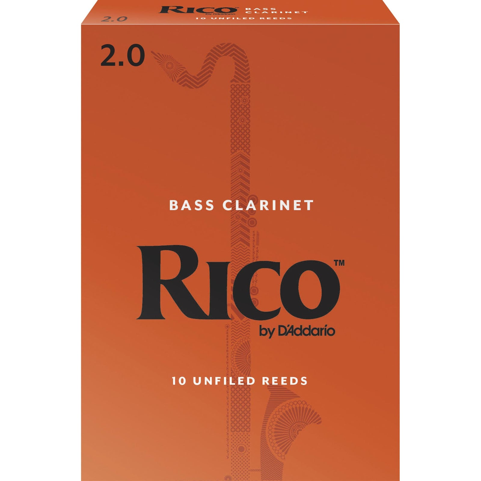 Rico by D'addario Bass Clarinet Reeds (10 Box)