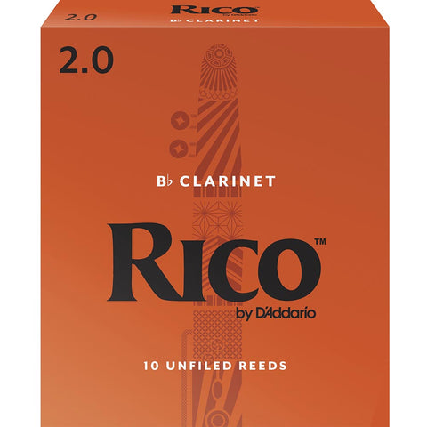 Rico by D'addario Bb Clarinet Reeds (3 Pack)