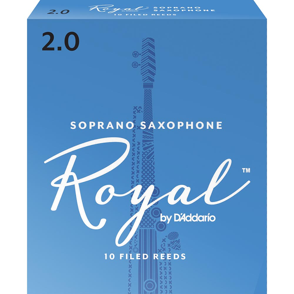 Royal by D'addario Soprano Saxophone Reeds (10 Box)