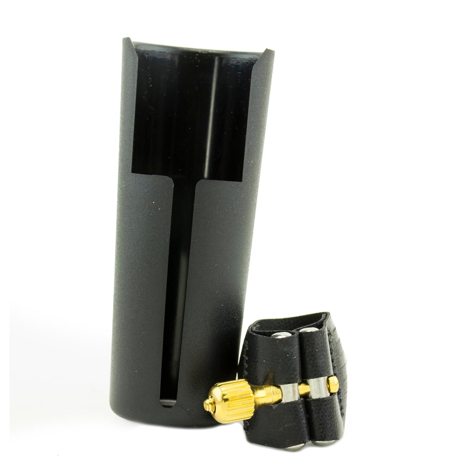 Rovner Dark BB Clarinet Ligature And Cap - 1R
