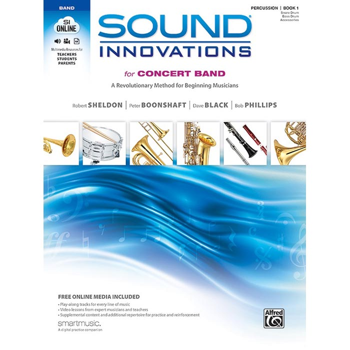 Sound Innovations: Percussion - Book 1