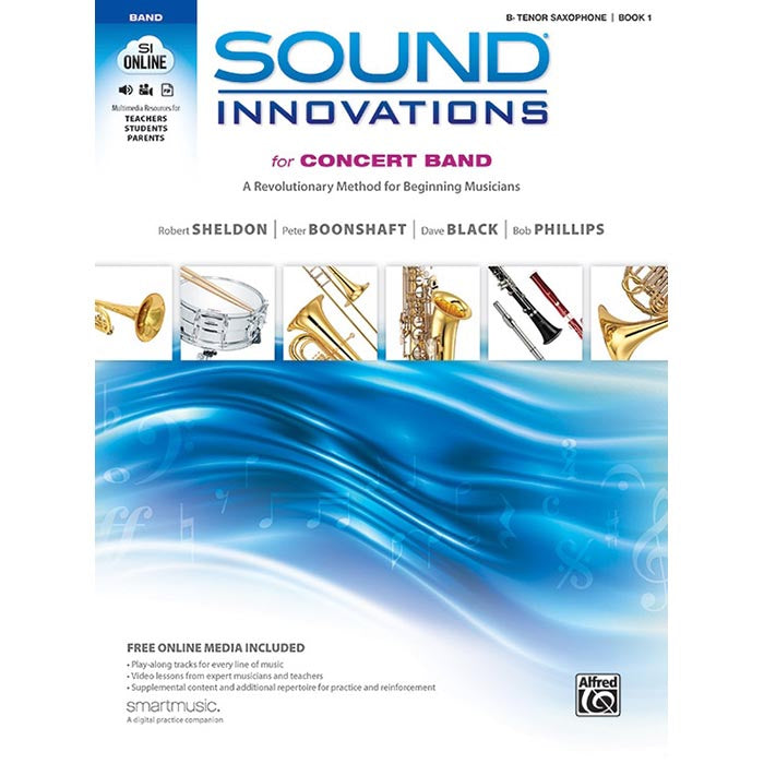 Sound Innovations: Tenor Sax Book 1